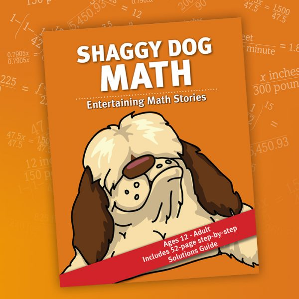 Shaggy Dog Math book cover for sale