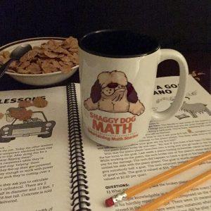 Shaggy Dog math coffee mug