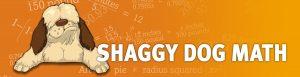 Shaggy Dog Math banner