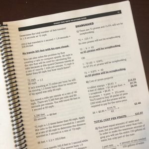 shaggy dog math solutions guide page