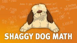 Shaggy Dog math banner art